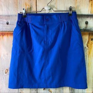 NWOT Christopher & Banks Stretchy Tennis Golf Athletic Skorts Blue Size 6